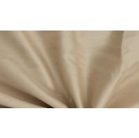 Béžové saténové prostěradlo 240x230 plachta bez gumy