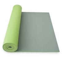 Yoga mat dvouvrstvá, zelená/šedá ks