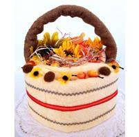 Veratex Textilní dort - košík