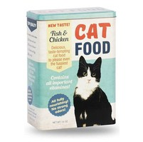 Skladovací dóza na krmivo kočky, 25x18x10cm, modrá