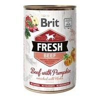 Brit Dog Fresh konz Beef with Pumpkin 400g