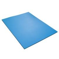 YATE FITNESS MAXI karimatka dvouvrstvá 12 - 95x70x1,2 cm černá/modrá