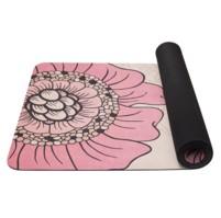 YATE Yoga Mat přírodní guma - vzor F  4 mm