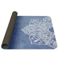 YATE Yoga Mat přírodní guma - vzor H 4 mm