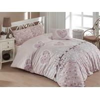 Povlečení francouzské bavlna 220x200,70x90 Dream love, Výběr zapínání: nitěný knoflík