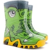 DEMAR - Chlapecké barevné holinky STORMER PRINT 0031 B krokodýl