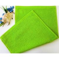 Dětský ručník froté 30x50 cm žlutozelený
