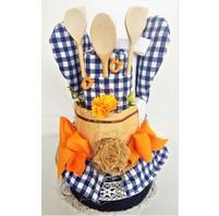 Veratex Textilní kuchyňský dort dvoupatrový