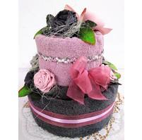 Veratex Textilní dort dvoupatrový