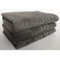 Froté ručník UNI 50x100 cm tm.šedá