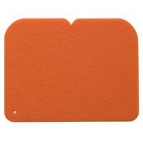 YATE Sedátko 24,5x19x0,8 cm  oranžové