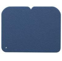 YATE Sedátko 1-vrstvé, 24,5x19 cm  tm.modré