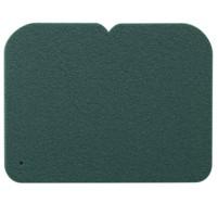 YATE Sedátko 1-vrstvé, 245x190 mm  tm.zelené