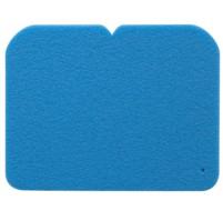 YATE Sedátko 24,5x19x0,8 cm sv. modré