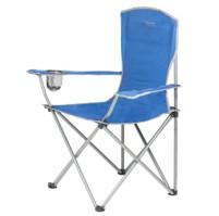 HIGHLANDER MORAY skládací židle s opěrkami - modrá