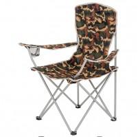 HIGHLANDER MORAY skládací židle s opěrkami - maskáč