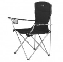Moray – skládací židle s opěrkami – černá