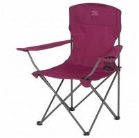 HIGHLANDER MORAY skládací židle s opěrkami - fialová
