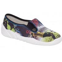 BIGHORN - Dětská textilní obuv OSKAR 5018 A
