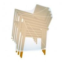 Obal na složené (stohované) židle skladem poslední kus