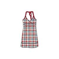 Loap Vesna CLL1356 Dámské bavlněné šaty Modrá kostka